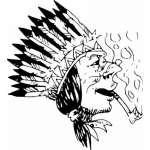 Native American Sticker 13