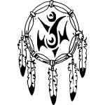 Native American Dreamcatcher Sticker 2