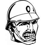Soldier  Sticker 17