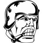 Soldier  Sticker 29