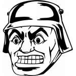 Soldier  Sticker 44