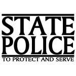 State Police Sticker
