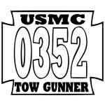 Tow Gunner Sticker