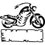 Tribal Bike Sticker 41