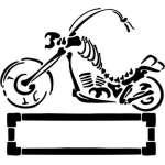 Tribal Bike Sticker 43