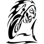 Tribal Bike Sticker 62