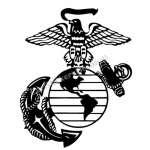 USMC 6 Sticker
