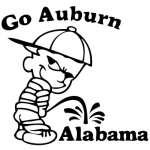 Auburn Pee On Alabama Sticker