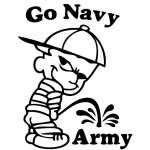 Navy Pee On Army Sticker