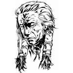 Native American Sticker 100