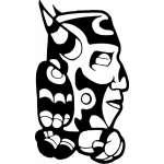 Native American Sticker 44