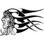 Native American Sticker 47