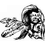 Native American Sticker 121