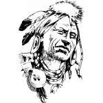 Native American Sticker 123
