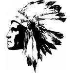 Native American Sticker 124