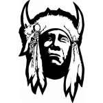 Native American Sticker 62