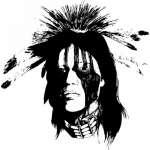 Native American Sticker 70