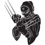 Ninja Sticker 7