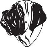 English Mastiff Dog Sticker