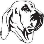 Fila Brasileiro Dog Sticker