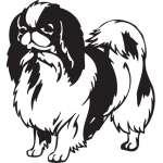 Japanese Chin Dog Sticker