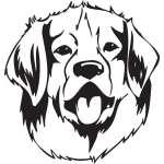 Leonberger Dog Sticker