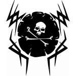 Pirate Sticker 13