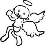 Angel Sticker 1122