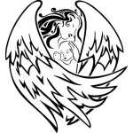 Angel Sticker 1134
