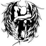 Angel Sticker 1145