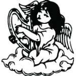 Angel Sticker 1162