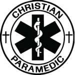 Christian Paramedic Sticker 2187
