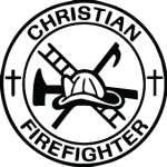 Christian Firefighter Sticker 2191