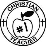 Christian Teacher Sticker 3179