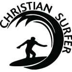 Christian Surfer Sticker 3220