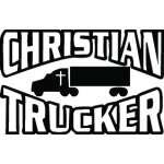 Christian Trucker Sticker 3269