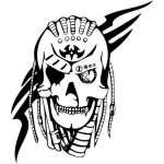 Skull Sticker 1