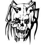 Skull Sticker 20