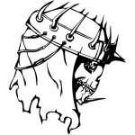 Skull Sticker 24