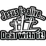 Jesus is Alive Sticker 3012
