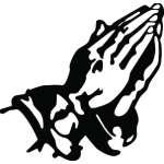 Prayer Sticker 3167