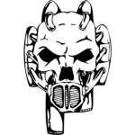 Skull Sticker 88