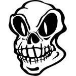 Skull 82 Sticker