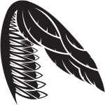 Wing Sticker 31