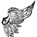 Wing Sticker 48