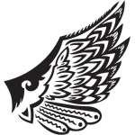 Wing Sticker 148