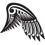 Wing Sticker 184