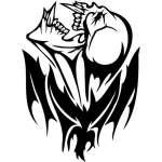 Skull Sticker 349
