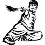 Extreme Karate Sticker 2015