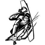 Extreme Wakeboarder Sticker 2096